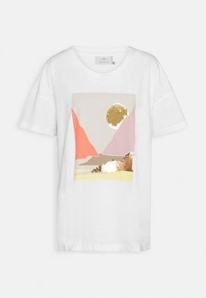 DREANA - T-shirts med print - optical white