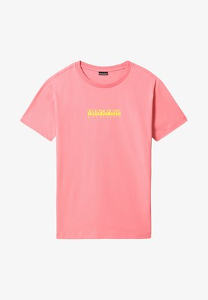 BEATNIK - Print T-shirt - pink strawberry