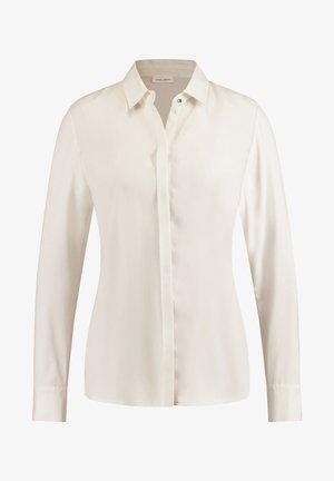 LANGARM - Button-down blouse - light ivory