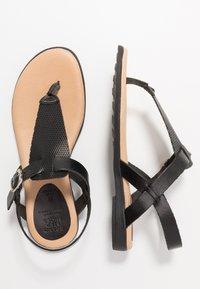 Grand Step Shoes - FLORA - T-bar sandals - black - 3