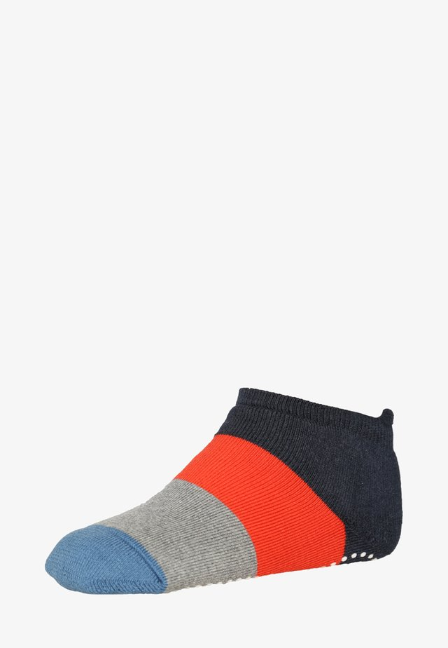 Colour Block - Socks - navy/grey/red/blue