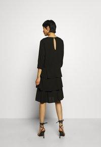 Moss Copenhagen - VERONA DRESS - Denní šaty - black - 2