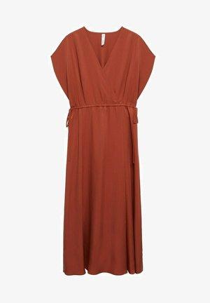 Denní šaty - bräunliches orange