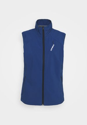 BRUSH - Vest - navy blue