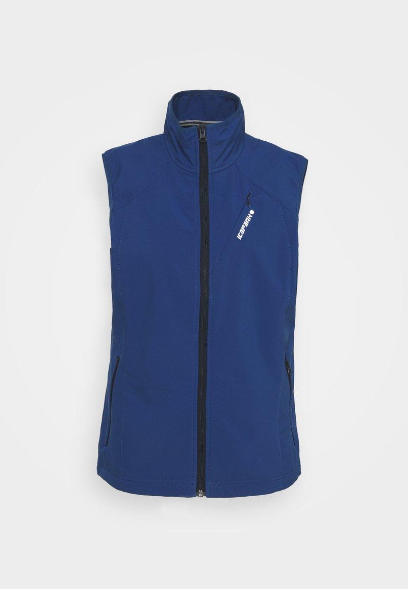 Icepeak - BRUSH - Waistcoat - navy blue