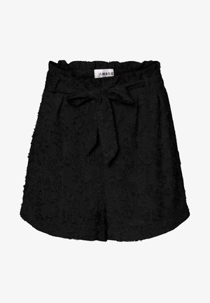 NORMAL WAIST - Shorts - black