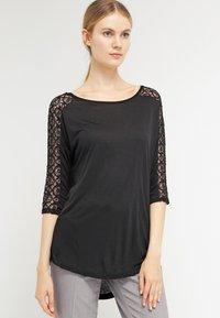s.Oliver - Long sleeved top - black - 0