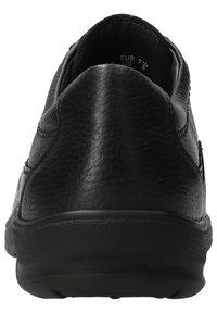 Mobils Ergonomic - SCHUHE EZARD - Casual lace-ups - black - 4