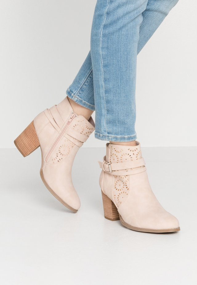 Ankle Boot - nude