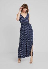 JDY - JDYLOGAN DRESS - Maxi dress - peacoat/oyster grey - 1