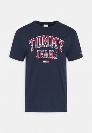PLAID COLLEGIATE  - T-shirt con stampa - twilight navy