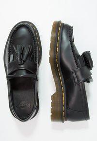 Dr. Martens - ADRIAN - Nazouvací boty - black - 1
