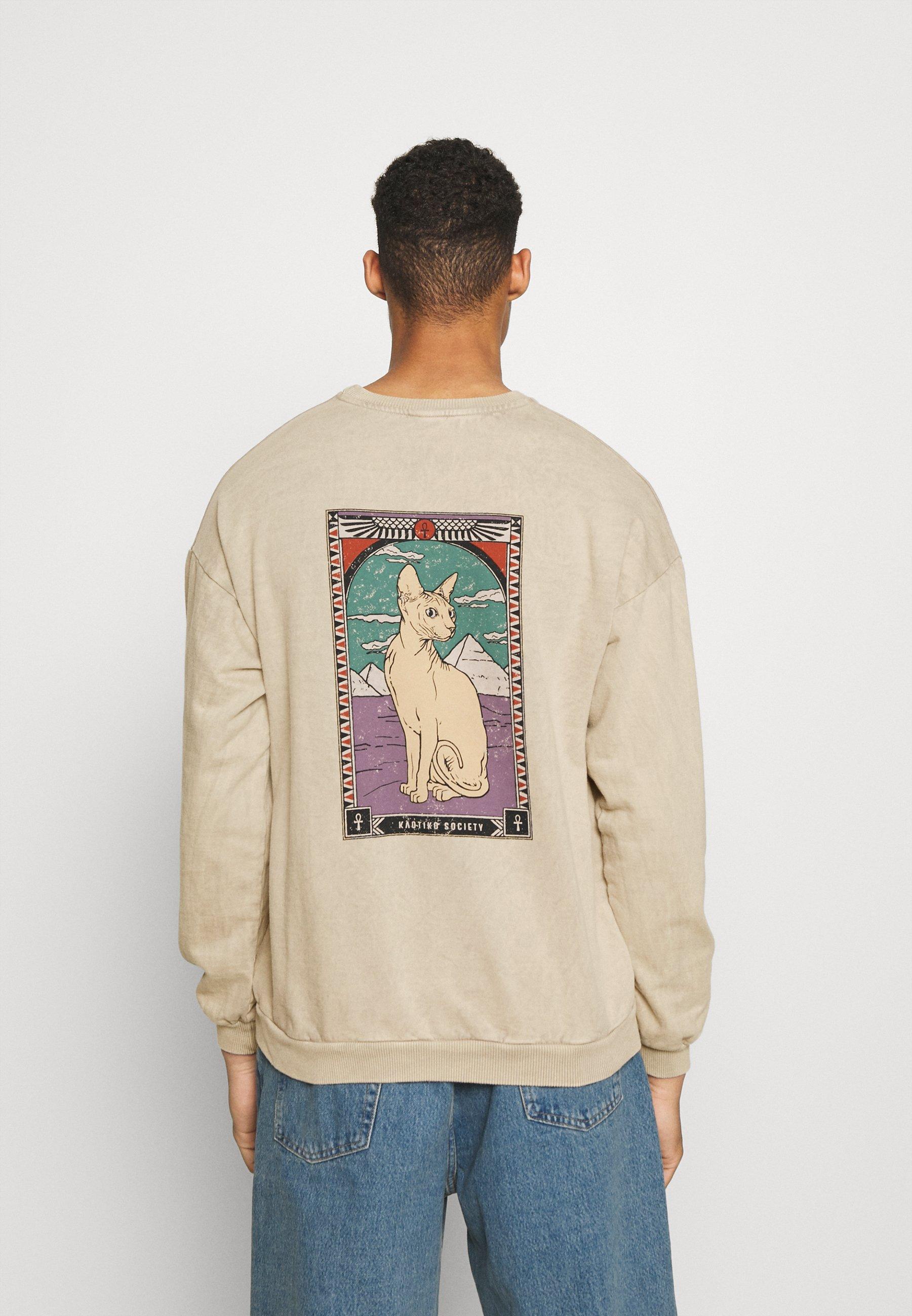Homme CREW CAT - Sweatshirt