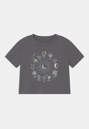 BOXY  - Print T-shirt - new shadow