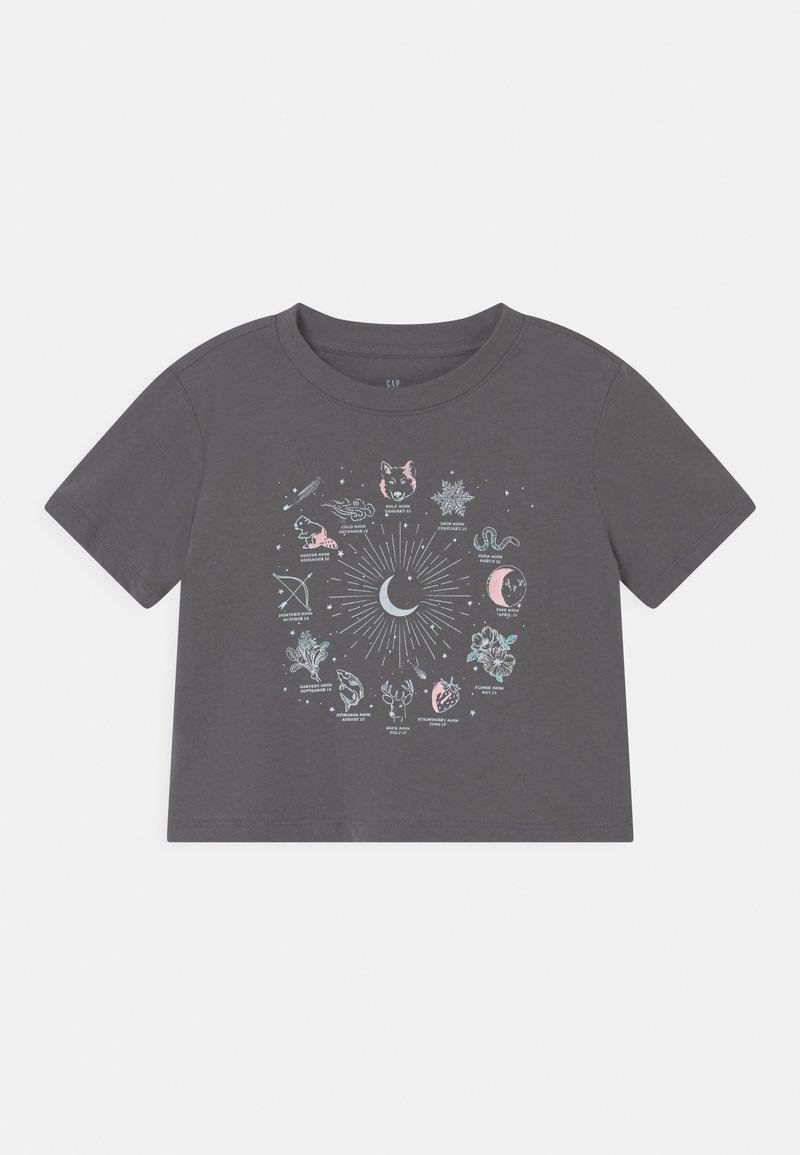 GAP - BOXY  - Print T-shirt - new shadow