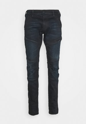 RACKAM 3D SKINNY - Jeansy Skinny Fit - worn in nightfall