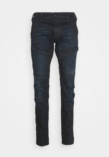 RACKAM 3D SKINNY - Skinny džíny - worn in nightfall