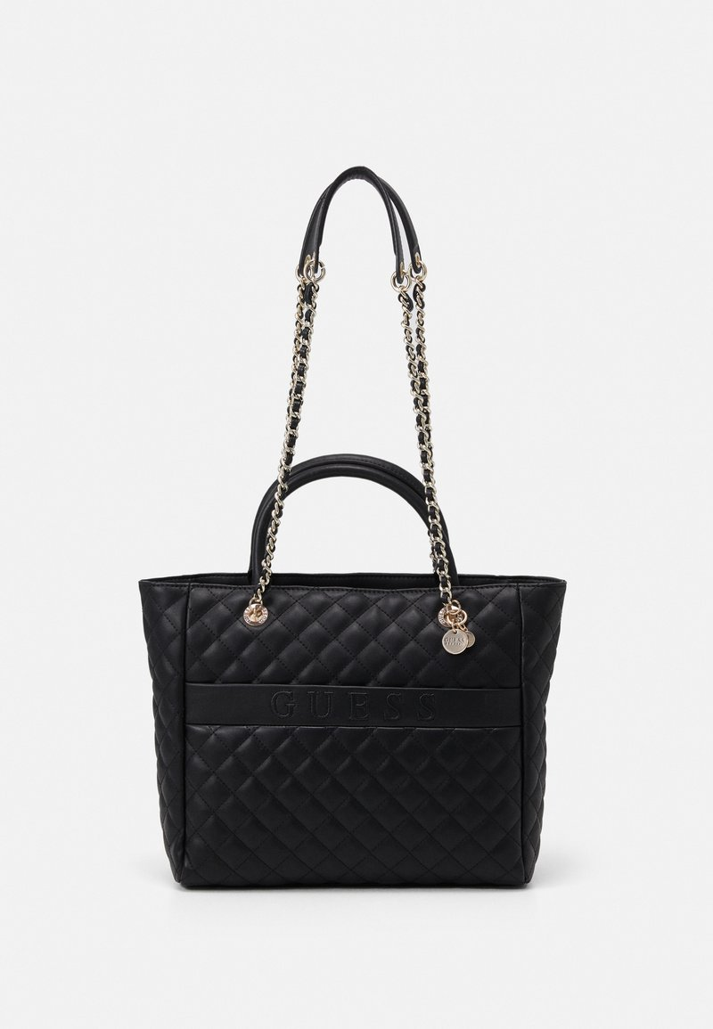 Guess - ILLY ELITE TOTE - Handbag - black