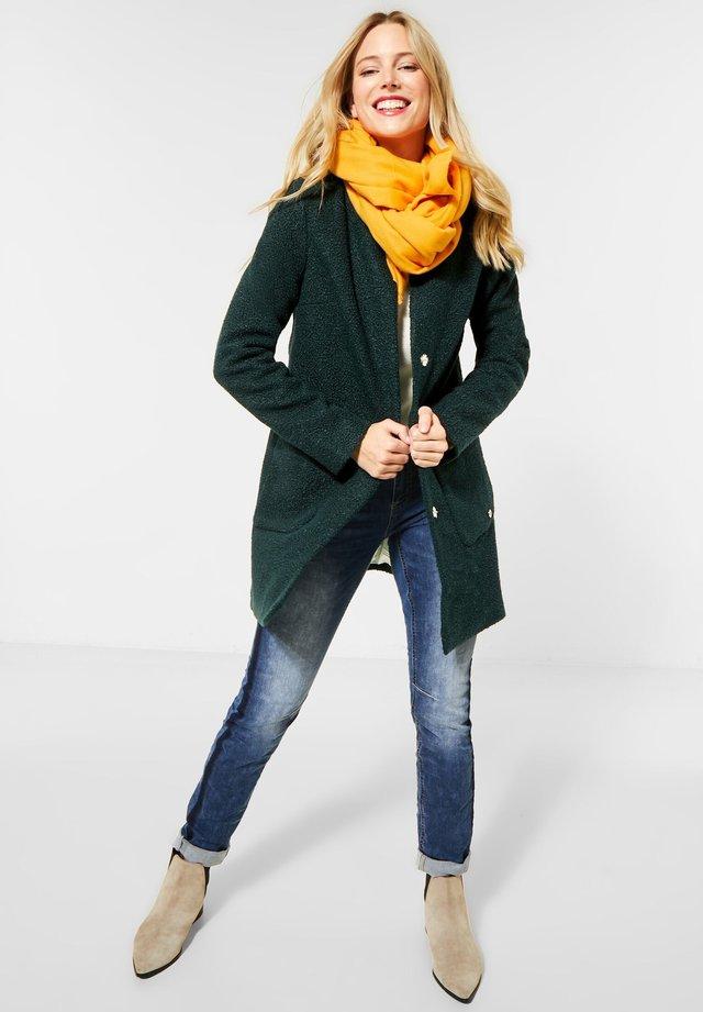 Wollmantel/klassischer Mantel - Grün