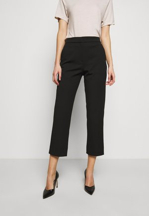 JUDITH - Trousers - black