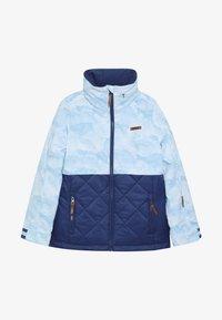 Ziener - ALULA JUNIOR - Ski jacket - blue mountain - 4