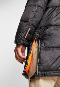 Superdry - STREET LONGLINE PUFFER - Płaszcz zimowy - jet black - 4