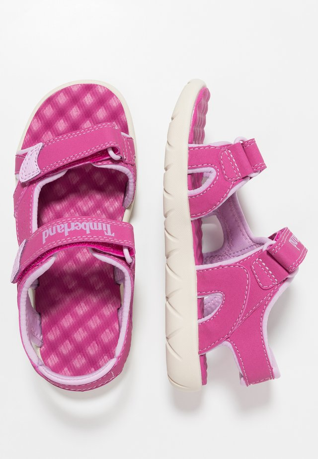 PERKINS ROW 2-STRAP - Walking sandals - medium pink