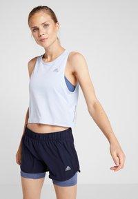 adidas Performance - TANK COOLER - Camiseta de deporte - blue - 0