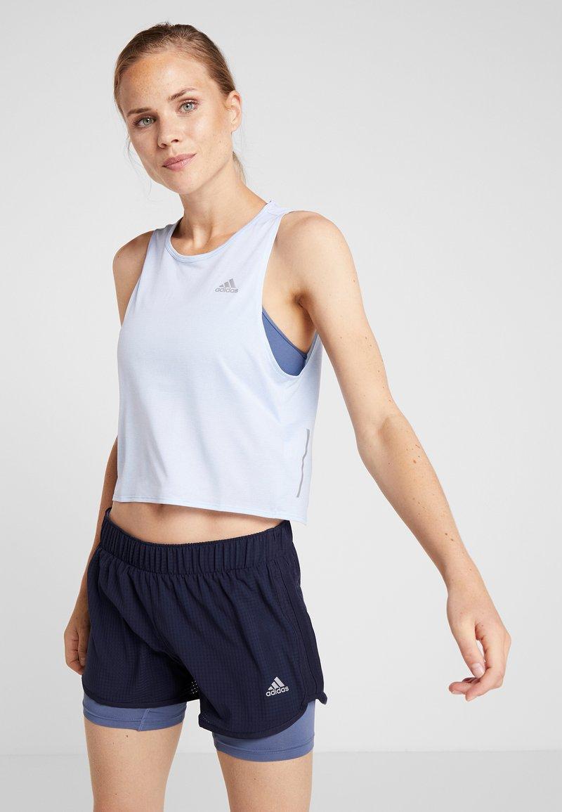 adidas Performance - TANK COOLER - Camiseta de deporte - blue