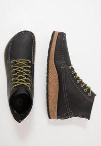 Birkenstock - MARTON - Lace-up ankle boots - black - 1