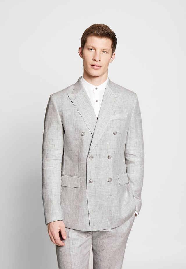 CURTIS - Suit jacket - light grey
