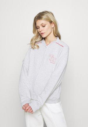 RETRO CLASSICS TOP - Pyjama top - ice/grey/heather