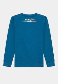 Automobili Lamborghini Kidswear - CONTRAST CREWNECK - Sweatshirt - blue eleos - 1