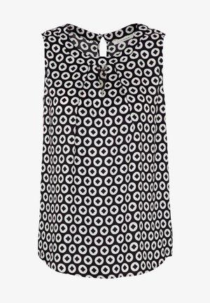 MODERN CLASSIC - Blouse - black/white
