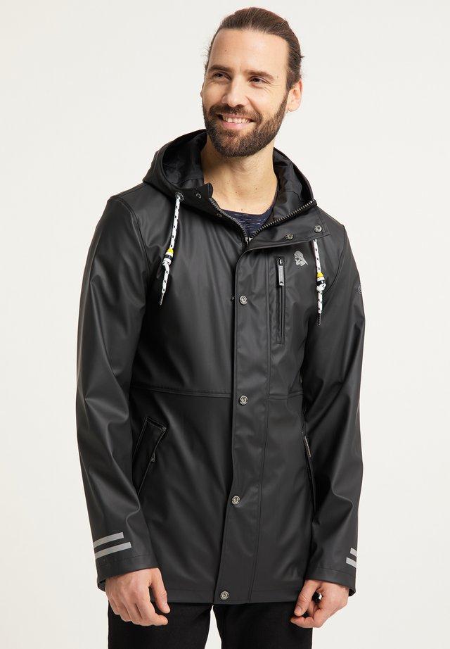 Vodotěsná bunda - schwarz