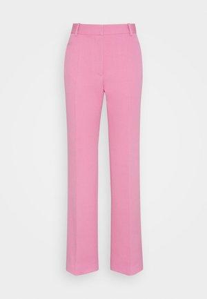 STRAIGHT LEG TROUSER - Trousers - bright pink