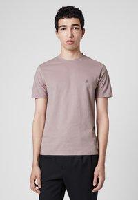 AllSaints - BRACE - Basic T-shirt - mauve - 0