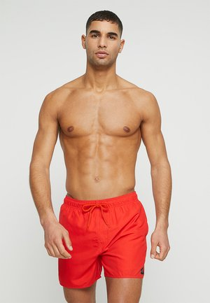OFFSET VOLLEY - Swimming shorts - red