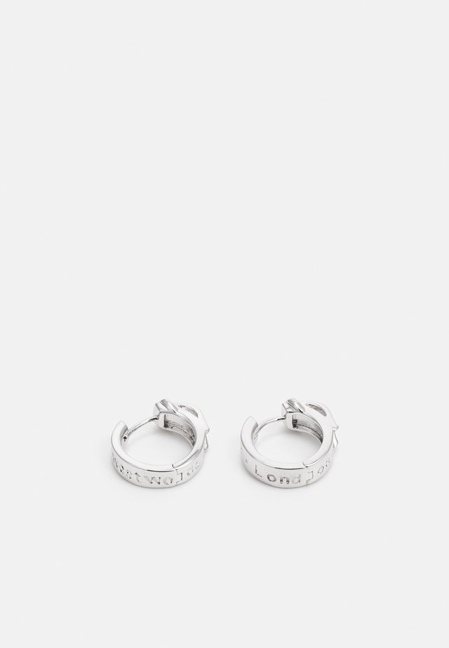 BOBBY EARRINGS - Collier - silver-coloured