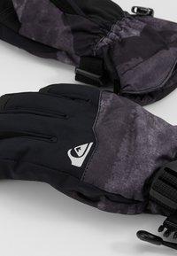 Quiksilver - MISSION YOU  - Fingerhandschuh - black matte - 3