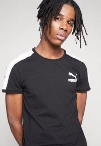 Puma - ICONIC - Print T-shirt - puma black - 3