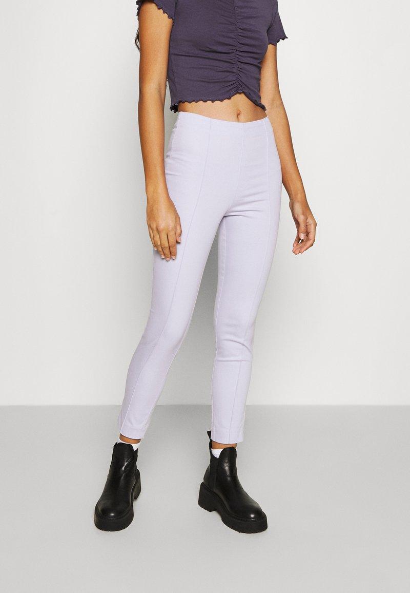 Monki - Trousers - lilac purple dusty light