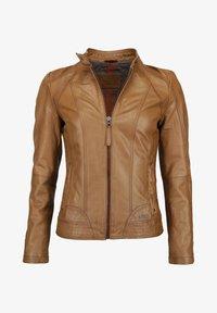 Mustang - BLANCA - Leren jas - cognac - 0