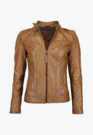 BLANCA - Leather jacket - cognac