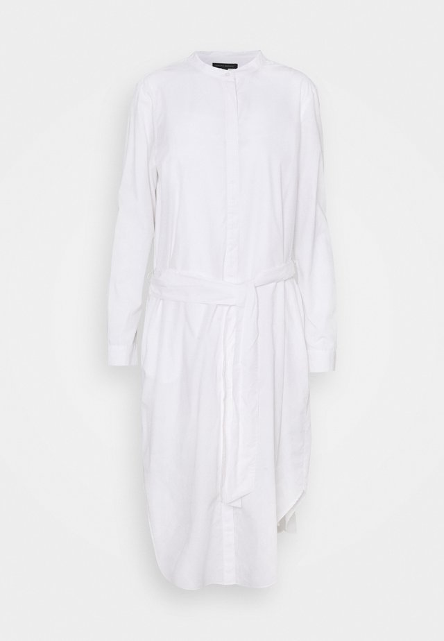 SHIRTDRESS SOLID - Blousejurk - vwhite