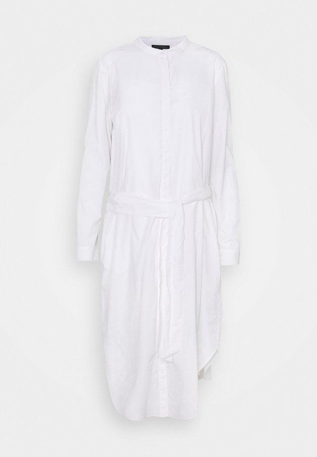 SHIRTDRESS SOLID - Abito a camicia - vwhite