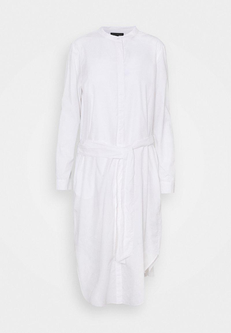 Banana Republic Tall - SHIRTDRESS SOLID - Shirt dress - vwhite
