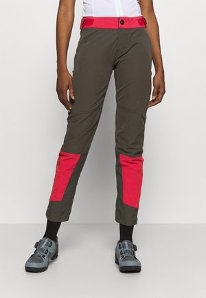 PANTS SHELTER - Pantaloni outdoor - root brown