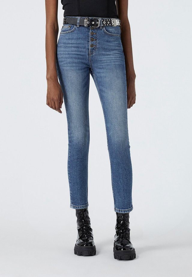 Jeansy Straight Leg - blu
