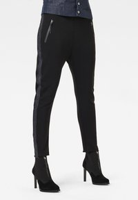 G-Star - FABRIC MIX TAPERED  - Trousers - dk black - 0